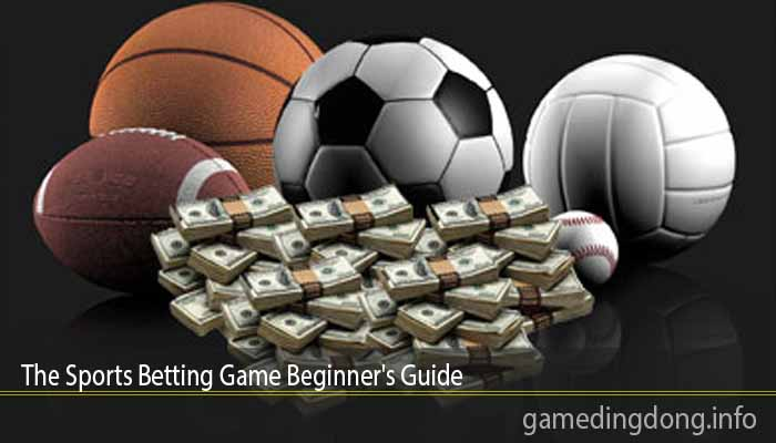 The Sports Betting Game Beginner's Guide